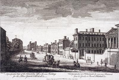 Admiralty, Whitehall, London, 1794-Laurie & Whittle-Giclee Print