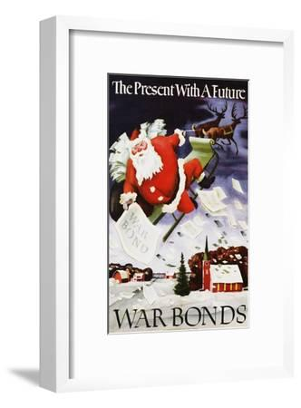 The Present with a Future War Bonds Poster