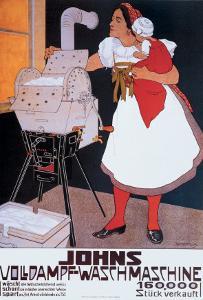 Johns Wash Machine by Adolf Karpellus