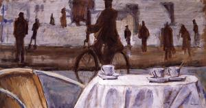 Bicycle Ride by Adolf Llovera