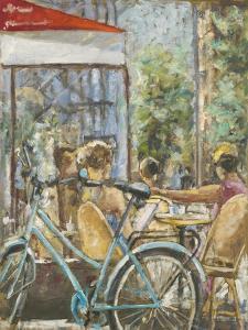 Cafe Paris V by Adolf Llovera