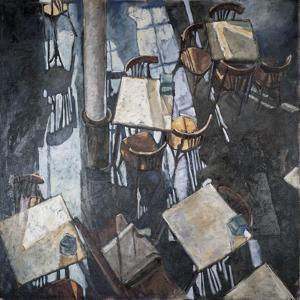 Shadows at the Zurich Café by Adolf Llovera