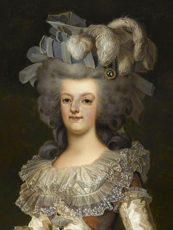 Marie-Antoinette d'Autriche reine de France et ses deux premiers enfants