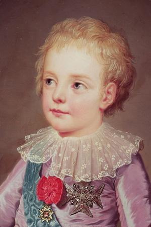 Portrait of Dauphin Louis, 1784