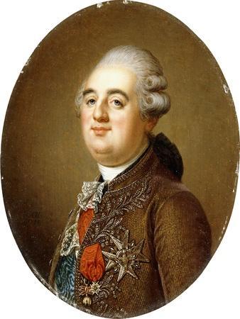 Portrait of King Louis XVI of France, Bust-Length, 1787