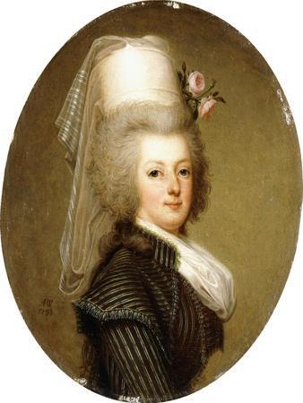 Portrait of Queen Marie Antoinette, 1793