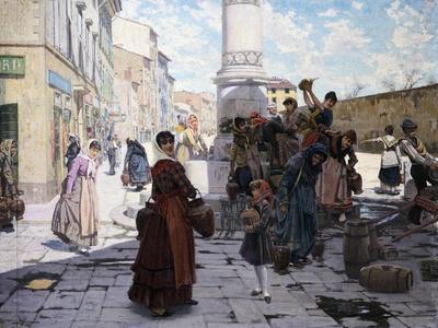 Women at Fountain