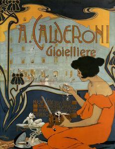 A Calderoni Gioiellerie, c.1898 by Adolfo Hohenstein