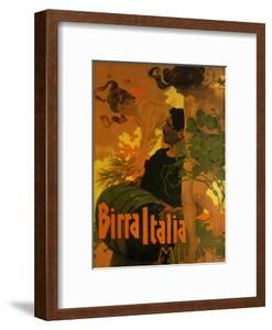 Birra Italia, c.1906 by Adolfo Hohenstein