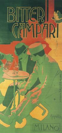 Bitter Campari Milano by Adolfo Hohenstein