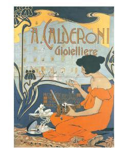 Calderoni Gioielliere 1898 by Adolfo Hohenstein