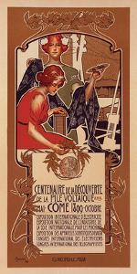 Centenaire de la Pile Voltaique by Adolfo Hohenstein