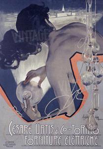 Cesare Urtis, Electric by Adolfo Hohenstein