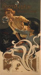 Chozza E Turchi, 1899 by Adolfo Hohenstein