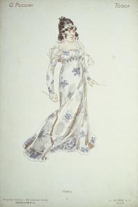 Costume Design in 'Tosca' by Adolfo Hohenstein