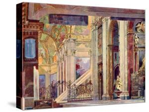 Giacomo Puccini 's opera Tosca by Adolfo Hohenstein