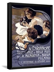 IV Esposizione Triennale di Belle Arti, Milano by Adolfo Hohenstein