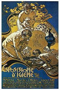 Lighting Exposition by Adolfo Hohenstein