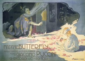Madame Butterfly 1904 by Adolfo Hohenstein