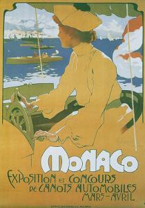 Monaco Exposition et Concours 1904 by Adolfo Hohenstein