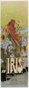 Poster, Opera 'Iris', 1898 by Adolfo Hohenstein