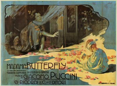 Puccini, Madama Butterfly by Adolfo Hohenstein