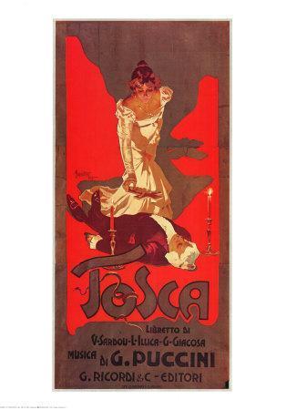 Puccini, Tosca