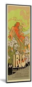 "Reproduction of a Poster Advertising ""Iris,"" a Comical Opera, 1898 by Adolfo Hohenstein"