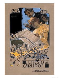 Resto de Carlino by Adolfo Hohenstein