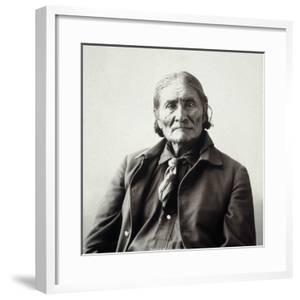 Geronimo (1829-1909) by Adolph F^ Muhr