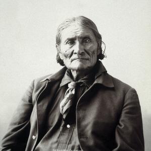 Geronimo (1829-1909) by Adolph F^ Muhr