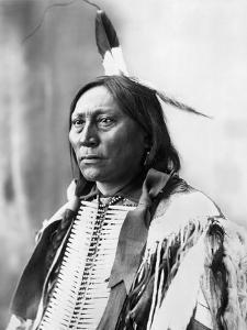 Sioux Chief, C1898 by Adolph F^ Muhr