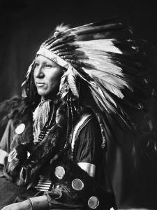 Sioux Native American, C1898 by Adolph F. Muhr