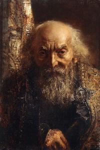 Der Rabbi Von Baghdad, C.1851 by Adolph Friedrich Erdmann von Menzel
