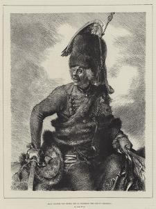 Hans Joachim Von Zieten, One of Frederick the Great's Marshals by Adolph Friedrich Erdmann von Menzel