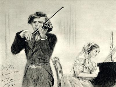 JOACHIM Joseph playing