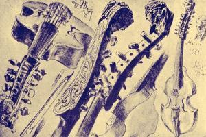 Viola d' amore made by Adolph Friedrich Erdmann von Menzel