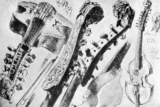 FREDERICK THE GREAT --Adolph Friedrich Erdmann von Menzel-Framed Giclee Print