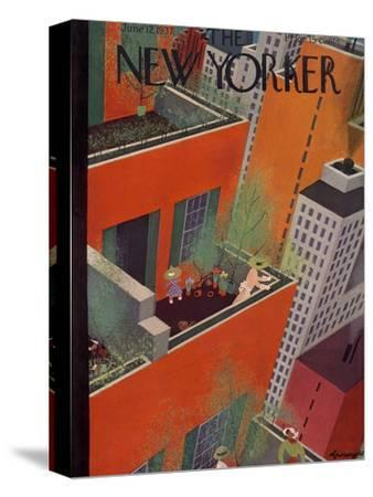 The New Yorker Cover - June 12, 1937