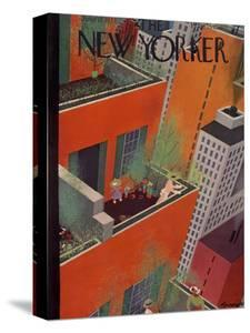 The New Yorker Cover - June 12, 1937 by Adolph K. Kronengold