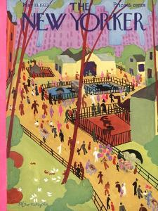 The New Yorker Cover - May 13, 1933 by Adolph K. Kronengold