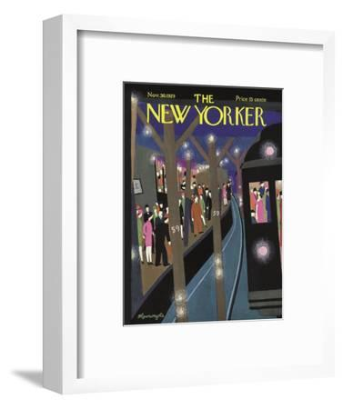 The New Yorker Cover - November 30, 1929