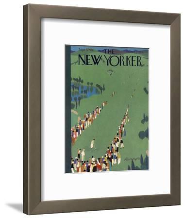 The New Yorker Cover - September 5, 1936