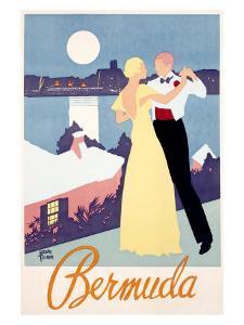 Bermuda by Adolph Treidler