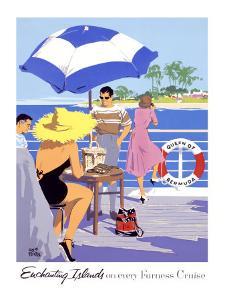 Furness Enchanting Island Cruises by Adolph Treidler