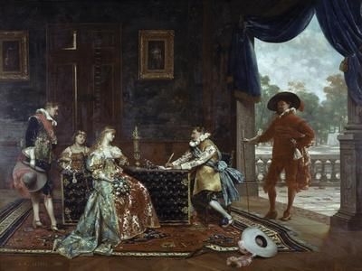 Signing a Marriage Contract at Court of Louis XIV