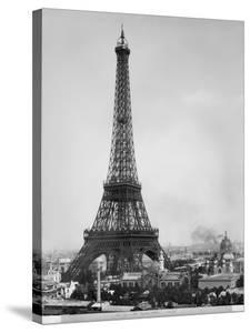 The Eiffel Tower Photographed During the Universal Exhibition of 1889 in Paris by Adolphe Giraudon