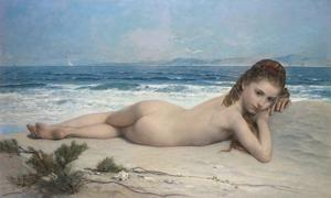 The Young Sea Nymph by Adolphe Jourdan
