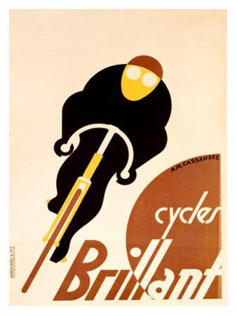 Cycles Brillant by Adolphe Mouron Cassandre