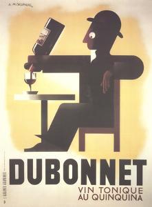 Dubonnet by Adolphe Mouron Cassandre